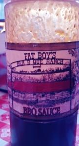 Fat Boy BBQ sauce