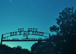 Beautiful sign against Alabama sky!