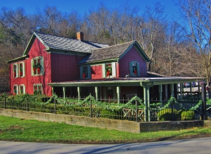 Welcome to Historic Maker's Mark-Master Distiller's Cottage.