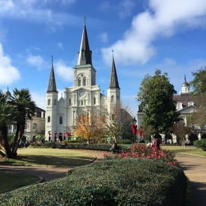 Jackson Square Heartbeat of City