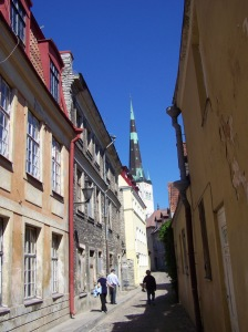 Pikk Jalg-The long leg connects the lower town and Toompea