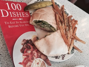 The Camel Rider Sandwich with Greek Fries
