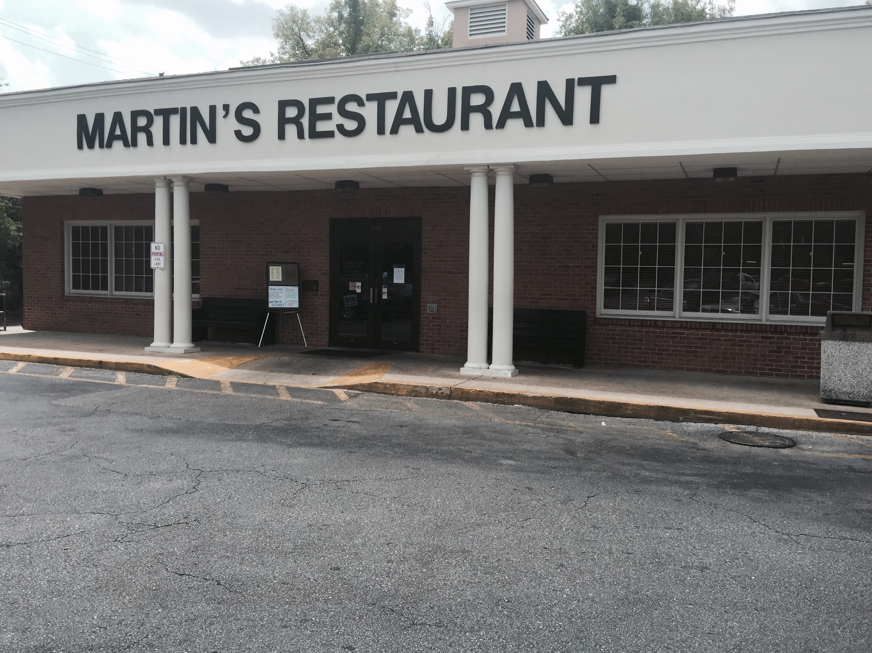 Martin S Restaurant Montgomery Alabama Menu