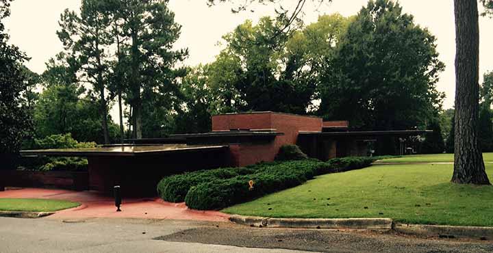 Frank Lloyd Wright Rosenbaum House | on rosenbaum house floor plan, forks of cypress florence alabama, things to do tuscaloosa alabama, cheaha state park alabama, wilson dam florence alabama,
