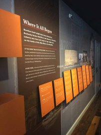 Evan Williams Welcome Area Informational Displays-Some History
