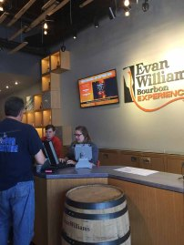 Evan Williams Welcome Area-Super Friendly Staff