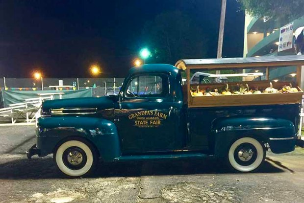 Alabama state fair truck