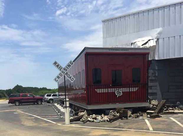 Derailed Diner out