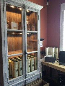 Don't miss this cabinet at Willette Distillery