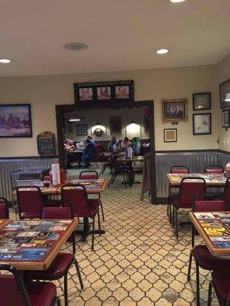 Johnny's BAR-B-Q Dining room.