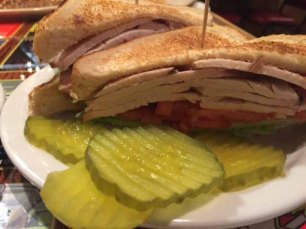 Smoked Turkey Sandwich at Johnny's BAR-B-Q