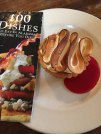 Chez Fonfon Lemon tart with raspberry sauce. Sensual!
