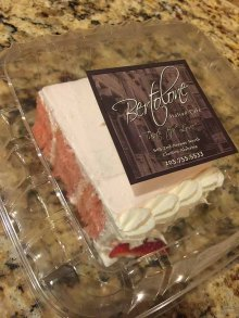 Bertolone's Strawberry Cake