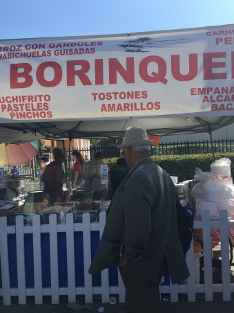 Borinquena Browsing food of Calle Ocho