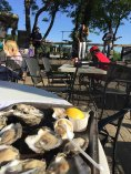 Just a few of my favorite things; Alabama sunshine in April, Oysters, Music, a view, friends.