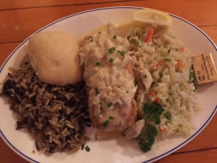 Jubilee Seafood Tripletail Fish with Lump Crab