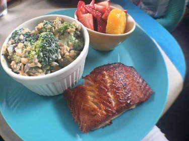 This is called Meg's customized lunch from The Farmer's Table in Spartanburg.