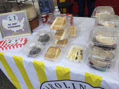 Caroline's Cakes had a booth at Hub City Hog Fest 2018