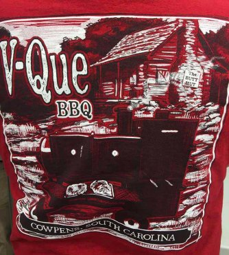 V-Que BBQ of Cowpens,, S.C. was one of my favorite groups. Hub City Hog Fest 2018