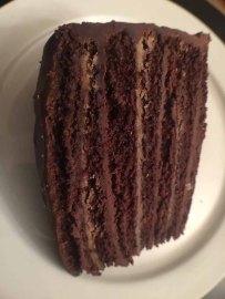 Caroline's Cakes Spartanburg S.C. Chocolate Layer Cake.