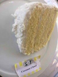 """Caroline's Cakes """"Coconut Cloud"""" A slice of heaven."""