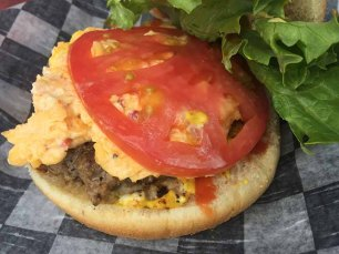 Ike's Pimento Cheese Burger, Spartanburg, SC