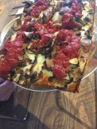 Pi-Squared Detroit Style Pizza the Meg way ie extra mushrooms Boiling Springs, South Carolina