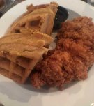 Fried Chicken and Waffles at Poogan's Porch Charleston, SC