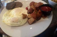 Ike's Down Home Breakfast at Poogan's Porch, Charleston, S.C,