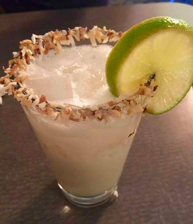 Coconut Lime Margarita from Taco Willy Spartanburg SC