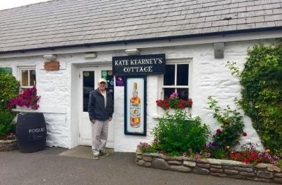 Frank at kate Kearney's cottage