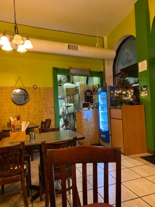 The interior of The Lemongrass Kitchen