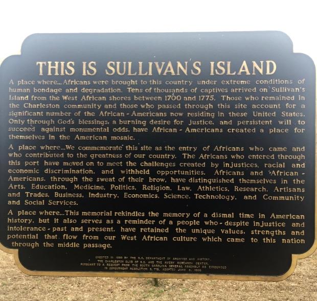 Sullivans island sign